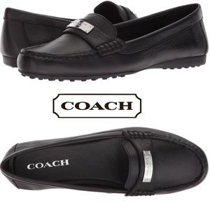 NEW Fredrica Leather Coach Flats